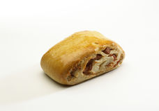 Stuffed bread Stock Photo