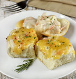 Stuffed Bread Rolls Stock Images
