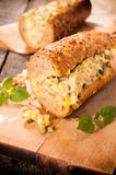 Stuffed bread Royalty Free Stock Photography
