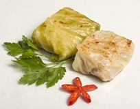 Stuffed cabbage Royalty Free Stock Photos