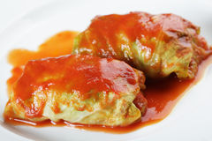 Stuffed cabbage Royalty Free Stock Images