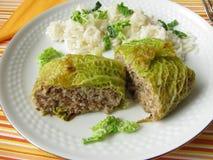 Stuffed cabbage Stock Image