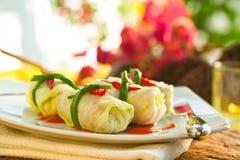 Stuffed Cabbage Stock Photos