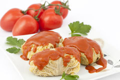 Stuffed cabbage Stock Images