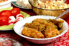 Stuffed cabbage royalty free stock image