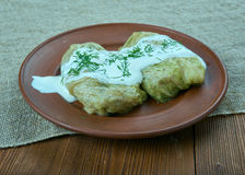 Stuffed cabbage Lithuania Royalty Free Stock Photography