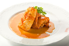 Stuffed Cabbage Roll Royalty Free Stock Images