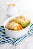 Stuffed cabbage roll Royalty Free Stock Image