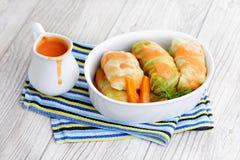 Stuffed cabbage roll Stock Photo