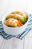Stuffed cabbage roll Royalty Free Stock Photo