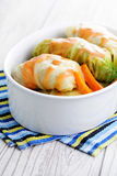 Stuffed cabbage roll Stock Photography