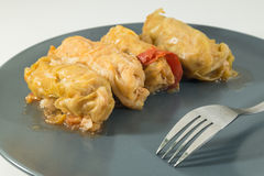 Sarmale - stuffed cabbage rolls Stock Images