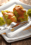 Stuffed cabbage rolls Royalty Free Stock Photos