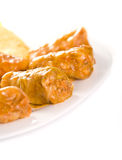 Stuffed  cabbage Royalty Free Stock Photography