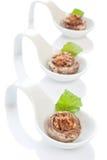 Stuffed champignon caps Stock Photo