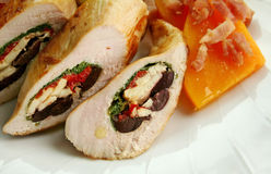 Stuffed Chicken Royalty Free Stock Images