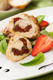 Stuffed Chicken Breast Royalty Free Stock Photo