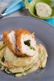 Stuffed chicken breast Chicken Kiev Stock Photography