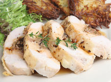 Stuffed Chicken Breast Joint Royalty Free Stock Photography
