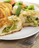 Stuffed Chicken Breasts Royalty Free Stock Photo