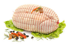 Stuffed chicken Royalty Free Stock Photos