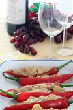 Stuffed Chilies Stock Photos
