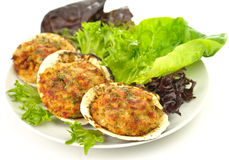 Stuffed clams Royalty Free Stock Photo