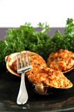 Stuffed clams Royalty Free Stock Images