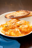 Stuffed Conchiglie shell pasta Royalty Free Stock Photography
