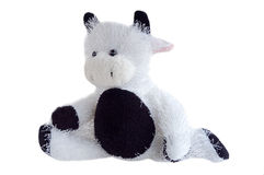 Stuffed cow toy Stock Images