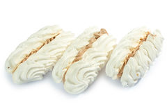 Stuffed Cream puff Stock Image