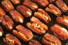 Stuffed dates 1 Royalty Free Stock Photo