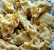 Stuffed dumplings Stock Images
