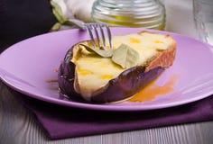 Stuffed eggplant. Stock Image