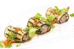 Stuffed eggplant Royalty Free Stock Images