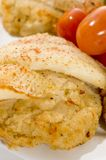 Stuffed fillet of sole Royalty Free Stock Images