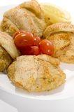 Stuffed fillet of sole Stock Photography