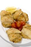 Stuffed fillet of sole Royalty Free Stock Photo