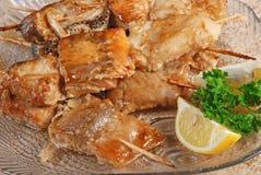 Stuffed fish Royalty Free Stock Photo