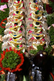 Stuffed fish at banquet table Royalty Free Stock Photo