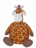 Stuffed giraffe toy  Stock Image