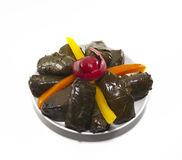 Stuffed grape leaves Stock Photo