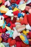 Stuffed hearts Stock Photo
