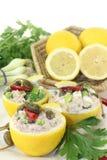 Stuffed lemons Stock Images