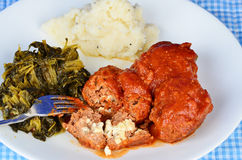 Stuffed Meatballs Royalty Free Stock Images