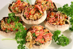 Stuffed mushroom 2 Stock Photography