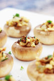 Stuffed Mushrooms Stock Photography