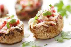 Stuffed mushrooms Royalty Free Stock Image