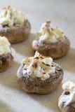 Stuffed mushrooms Royalty Free Stock Images