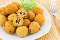 Stuffed olives Stock Images